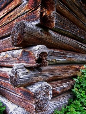 Holzbau in den Bergen