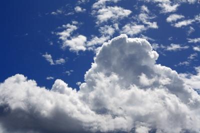 Sommerliche Wolken