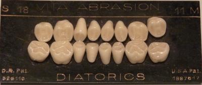 Ein neuer Satz Zähne