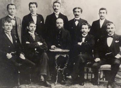 "Die ""Chefetage"" (um 1880)"