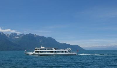 Schiffsreise auf dem Genfersee