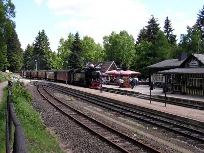 Im Bahnhof Schierke