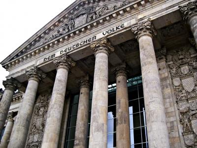 Reichstagsgebäude Eingang