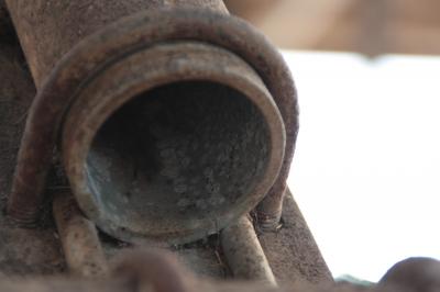 Kreisrundes Rohr