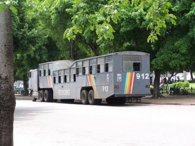Sattelschlepperbus (Havanna Kuba)