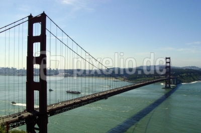 GoldenGateBridge San Francisco vom Norden