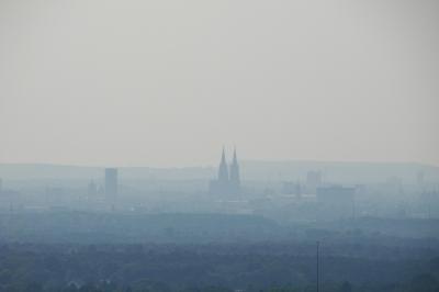 Köln im Smog