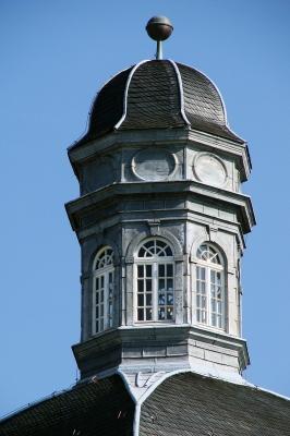 Schloss Bensberg zu Bergisch Gladbach, Dach-Turm #2