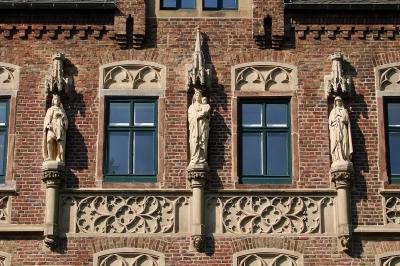 Schloss Paffendorf zu Bergheim, Fassadendetail #2