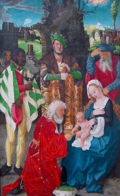 Mittelalterliches Weihnachtsbild
