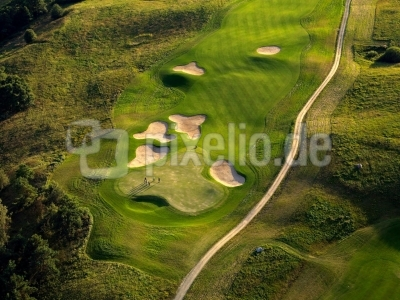 Golfplatz - Luftbild