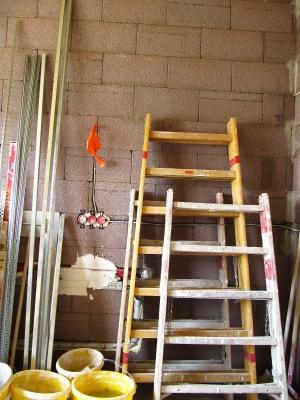Neubau - bevor der Gipser kommt