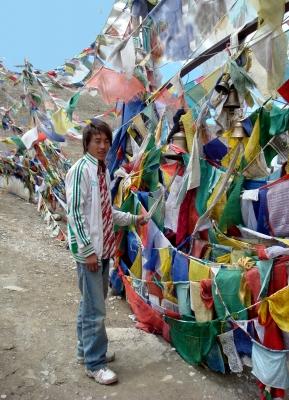 Gebetsfahnen in Tibet 2