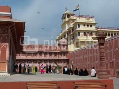 Palast in Jaipur/Indien