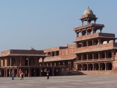 Palast in Fatepur Sikri (Indien)