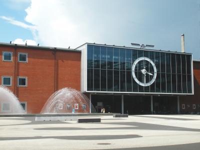 Messegebäude in Basel