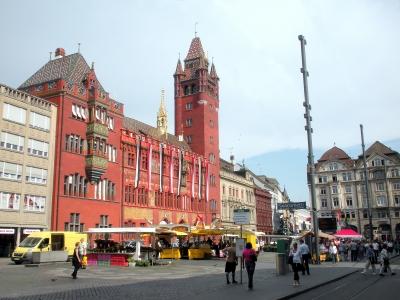 Basler Ratshaus / Marktplatz