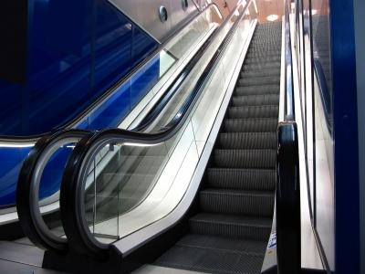 Rolltreppen im Einkaufscenter