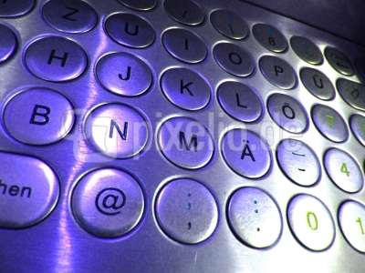 Metall-Tastatur 2