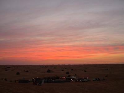 in der wüste bei Dubai (VAE)