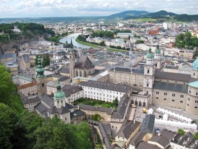 Über den Dächern von Salzburg...