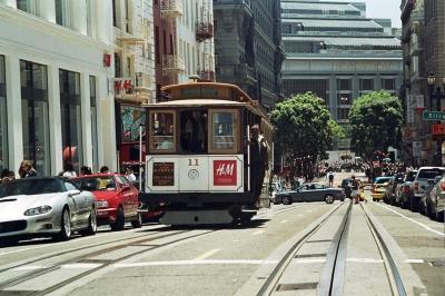 Cable car, San Franzisco/  Californien