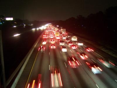 Feierabendverkehr bei Atlanta