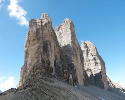 Dolomiten - Drei Zinnen   UNESCO Weltnaturerbe