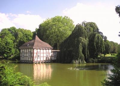 Lustschlösschen  im Schlosspark von Stadthagen