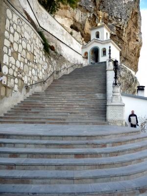 Das Mariä-Himmelfahrts-Kloster bei Bachtschissaraj