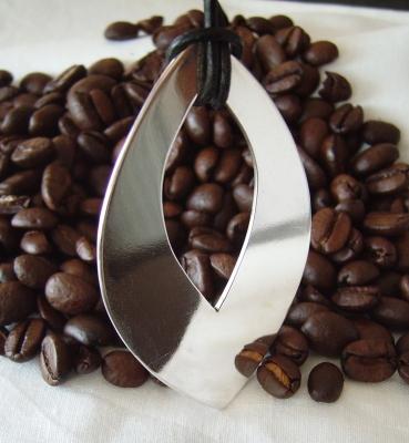 "Silberanhänger ""Cream in my Coffee"""