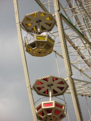 Riesenrad,  Gondeln 2