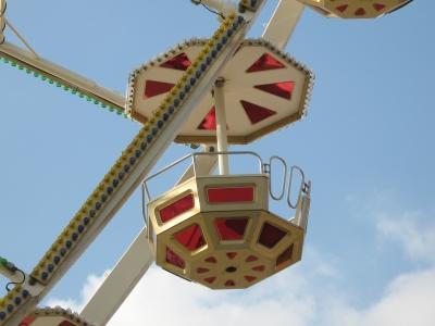 Riesenrad,  Gondel