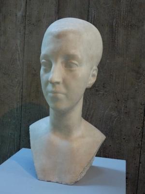 Frauenkopf (Marmorbüste)