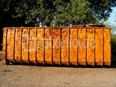 Altmetall Container
