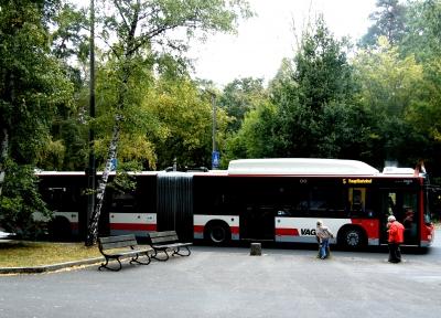 Gelenkbus in Nürnberg