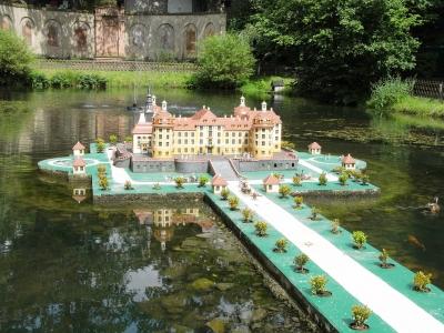 Schloss Moritzburg en miniature