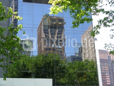 New Yorker Hochhaus Nähe Ground Zero