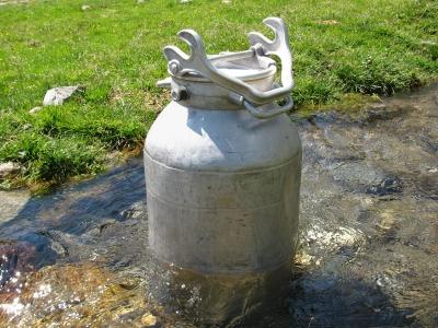Milch - Wassergekühlt