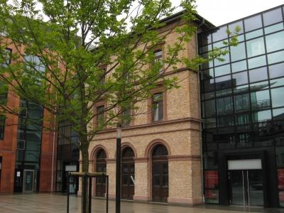 Mainz, Bahnhof Römisches Theater