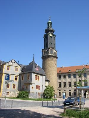 Residenzschloss & Bastille, Weimar