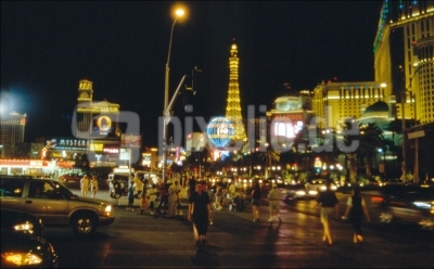 """The Strip"" - Las Vegas Night am L.V. Boulevard"