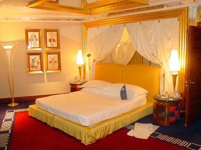 Zimmer im Burj al Arab in Dubai