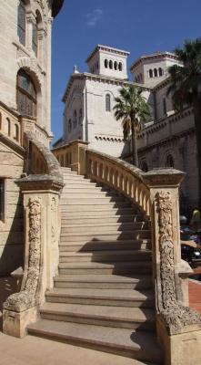 Treppe in Monaco