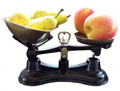 Äpfel mit Birnen vergleichen II