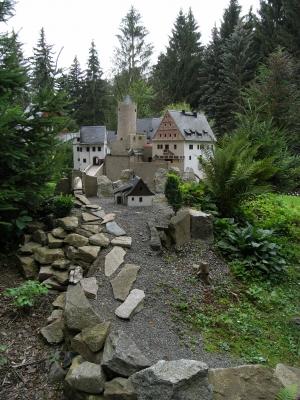 Ritterburg en miniature