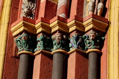 Der Georgsdom zu Limburg, Detailstudie #10