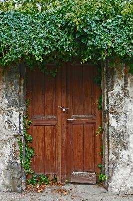 Tür mit Vergangenheit...