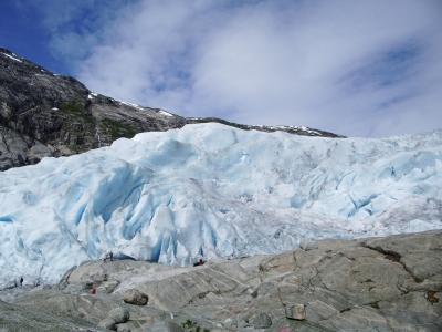 """""""Kleine Menschenkinder am großen Gletscher """""""