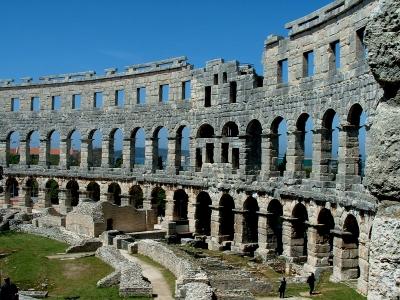 Antike Arena in Kroatien
